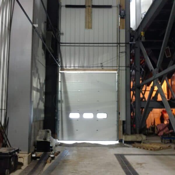 Boiler rooms trench drain