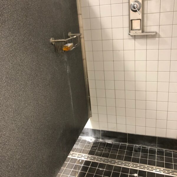 shower slotted trench drain