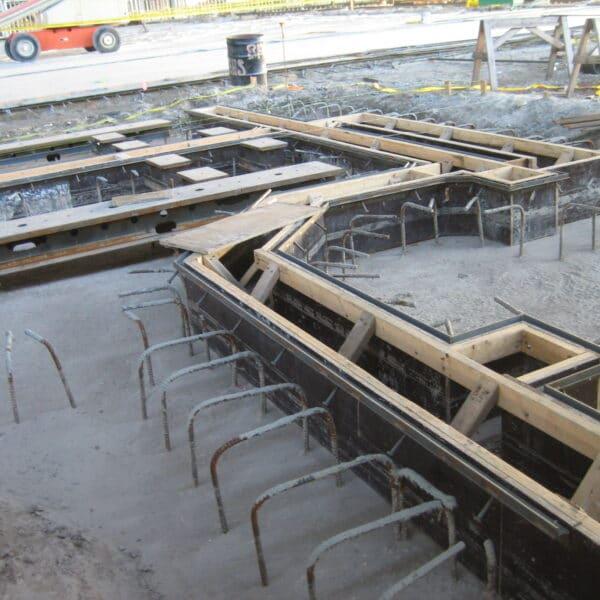 custom concrete trench drain
