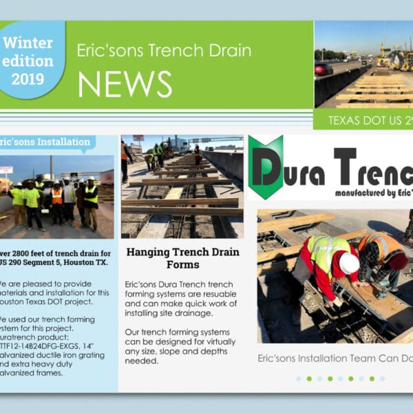dura trench winter 2019 newsletter