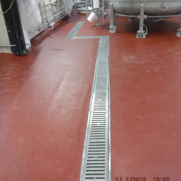 food and beverage trench drain