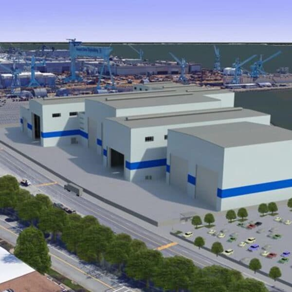 Newport News Shipbuilding new Joint Manufacturing Assembly Facility (JMAF)