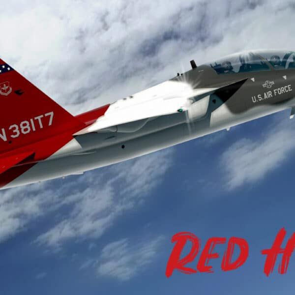 T-7A Red Hawk fighter jet