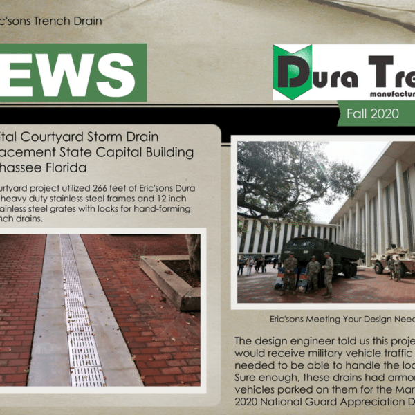 Duratrench newsletter update fall 2020