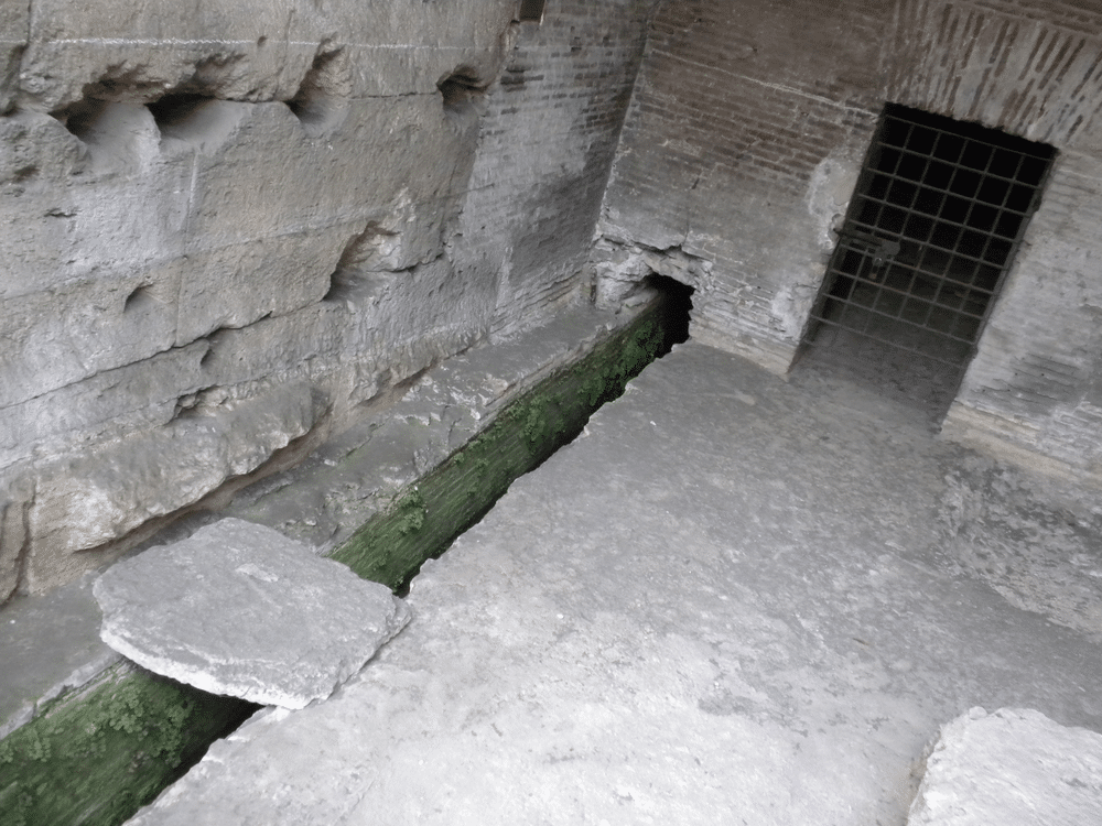 Early Roman Trench Drain