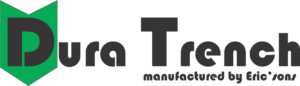 dura trench manufactured by Eric'sons full logo