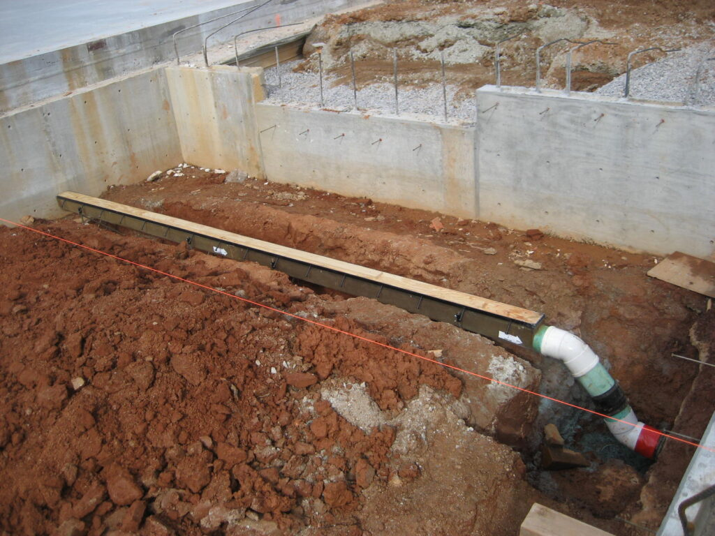 Small trench drains