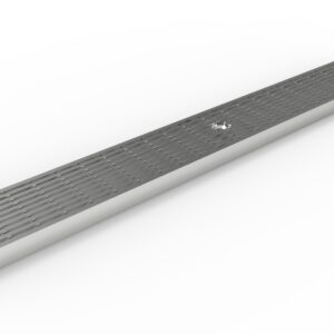 slatted stainless steel trench drain grate