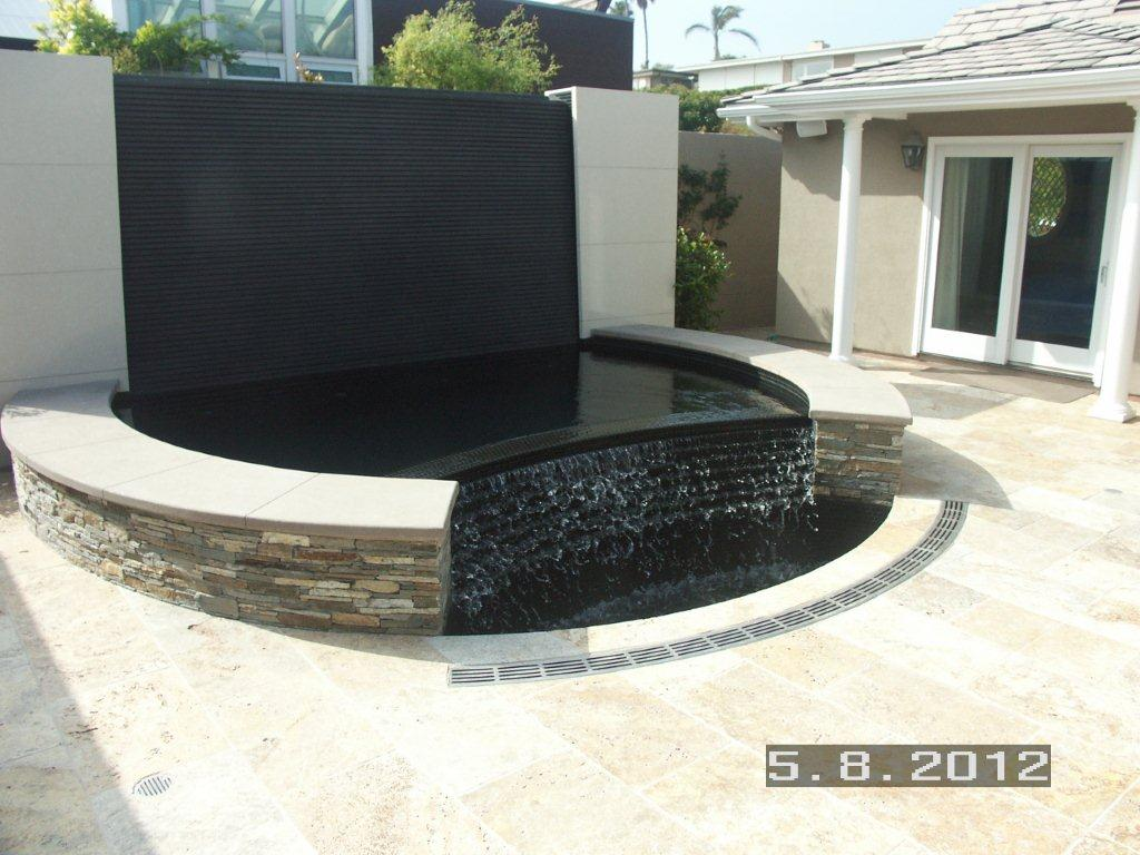 radus trench drain for a water feature