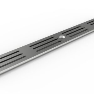 3-inch wide trench drain grate - ADA Heel Proof Stainless Steel Grate