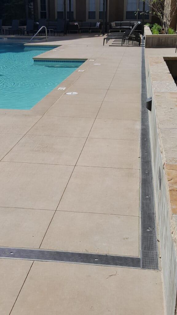 Condominium Pool Trench Drain