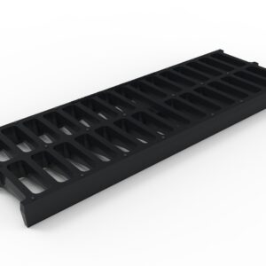 black trench drain grate