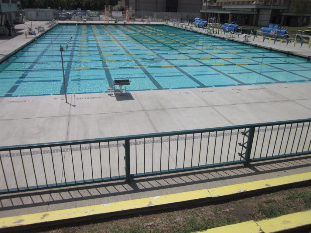 Competition Swimming Pool Trench Drain