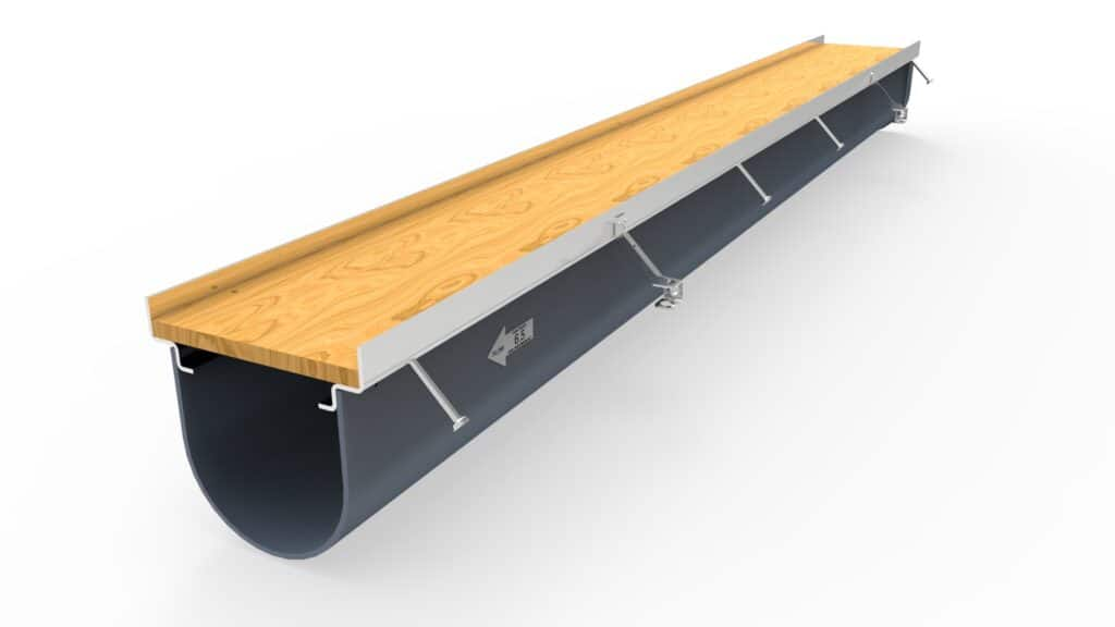 Dura Trench chemical resistant trench drains