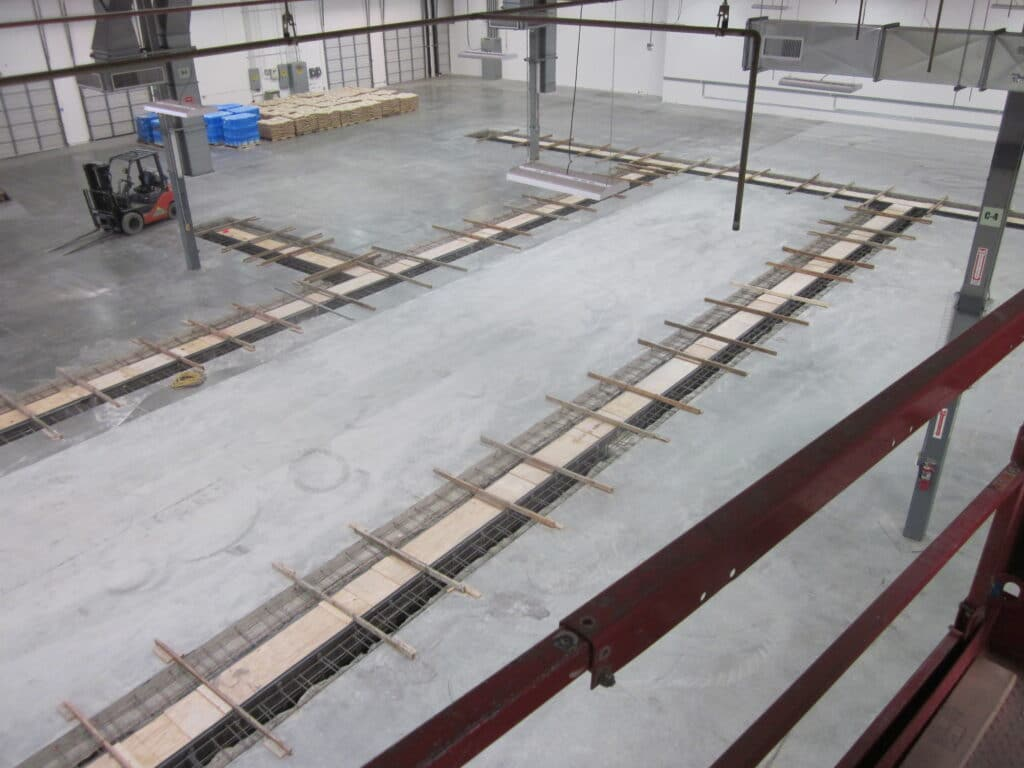 Complete trench drain layouts