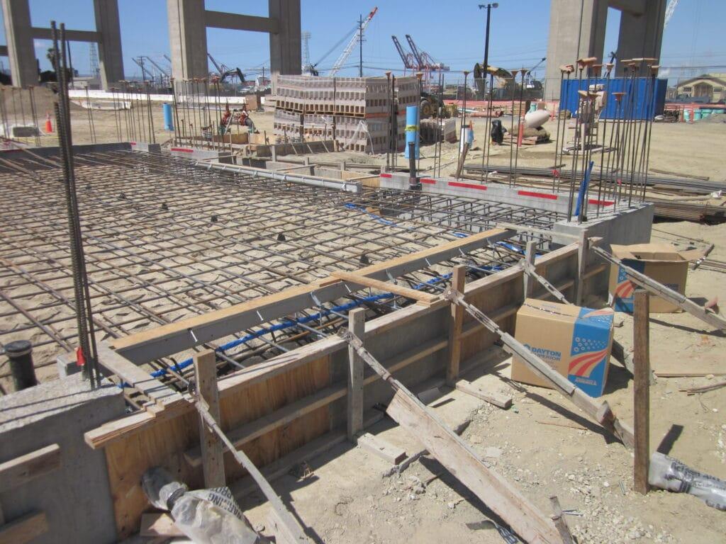 Storage Facilitiy trench drain system