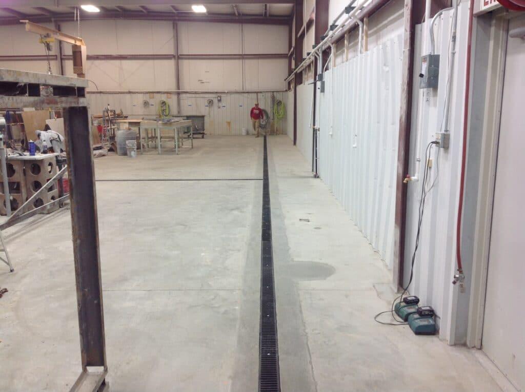 Retrofit trench drains