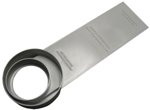 Trench drain end plate options by Dura Trench