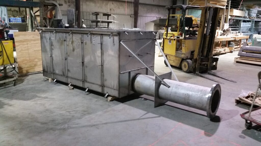 Stainless steel catch basins