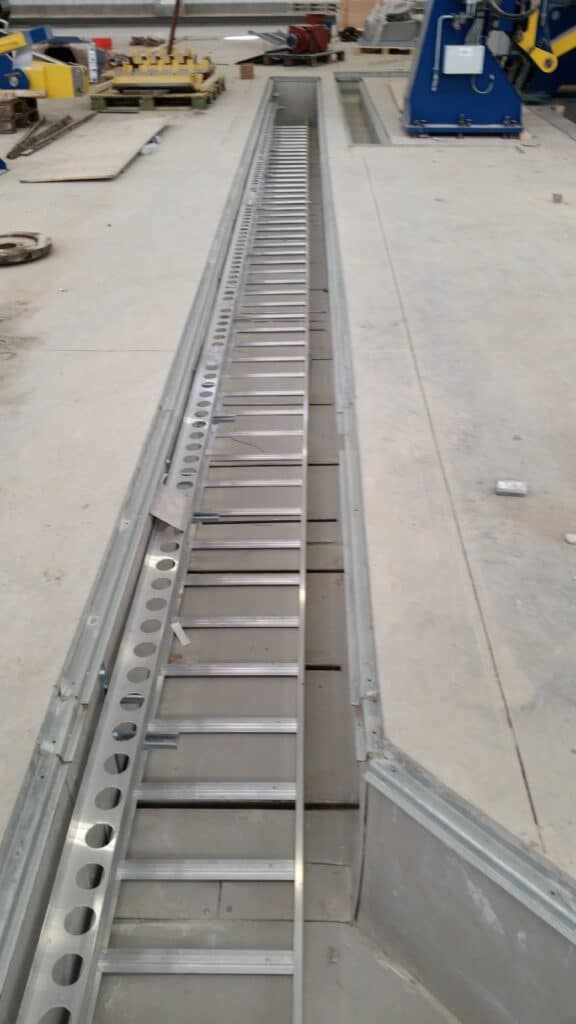 Low voltage utility trench