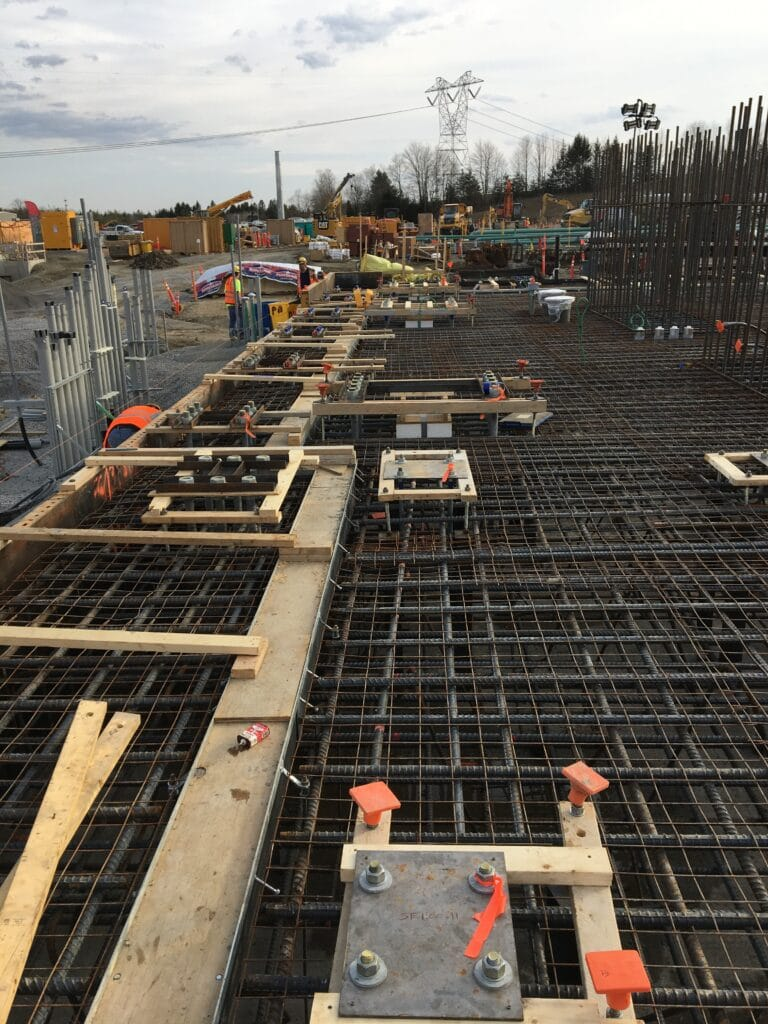 Fairview Energy Center trench drain system