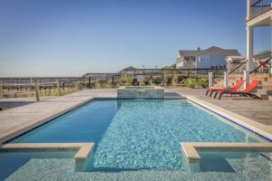 info on pool deck drainage systems